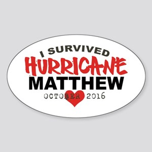 Hurricane Matthew Survivor October 2016 Sticker