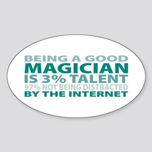 Good Magician Oval Sticker