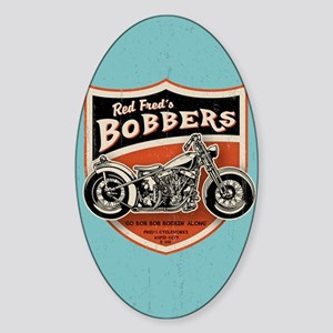 bobs-bobbers-CRD Sticker (Oval)