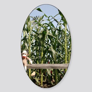 corn Sticker (Oval)