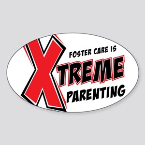 Xtreme Parenting Oval Sticker