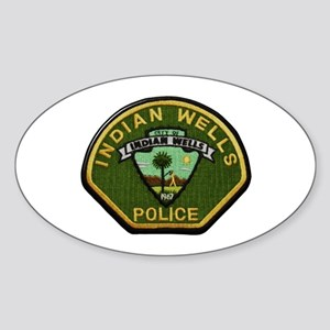 Indian Wells Police Sticker
