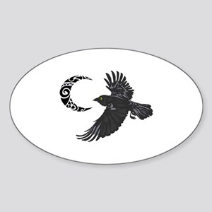 RAVEN AND MOON Sticker