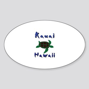 Kauai Hawaii Sticker