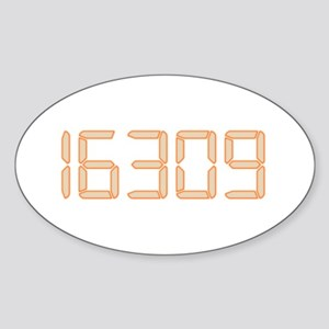 16309 Sticker (Oval)