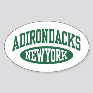 Adirondacks NY Sticker (Oval)