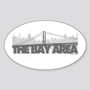 The Bay Area Oval Sticker
