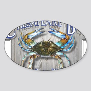 Chesapeake Bay Blues Sticker (Oval)