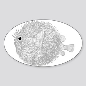 Blowfish Sticker (Oval)