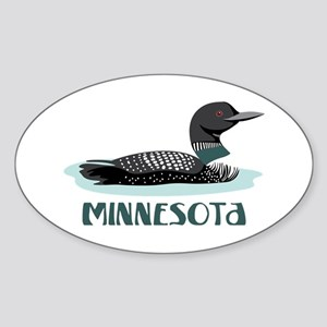 MINNESOTA Loon Sticker