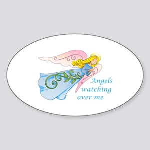 ANGELS WATCHING OVER ME Sticker