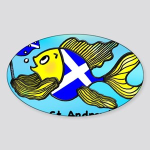 Happy St. Andrews Day Sticker (Oval)