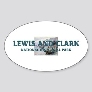 ABH Lewis and Clark Sticker (Oval)