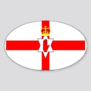 Northern Ireland Oval Sticker