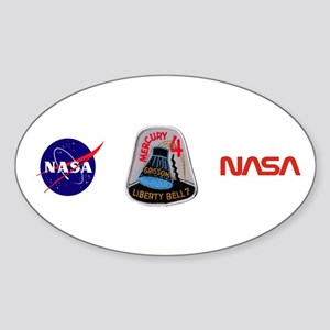 Liberty Bell 7 Gus Grissom Sticker (Oval)