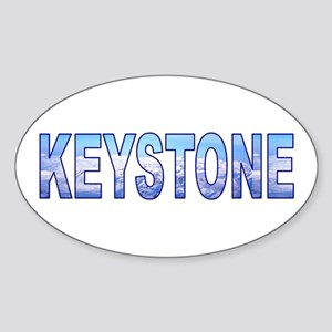 Keystone, Colorado Oval Sticker
