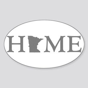 Minnesota Home Sticker (Oval)
