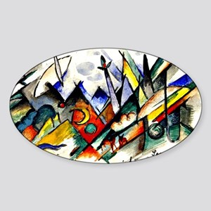 Franz Marc - Sonatine for Violin an Sticker (Oval)