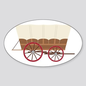 Prairie Wagon Sticker