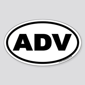 ADV Euro Oval Sticker