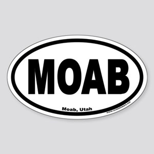 MOAB Euro Oval Sticker