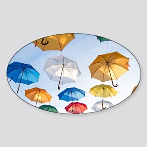 Umbrellas Sticker