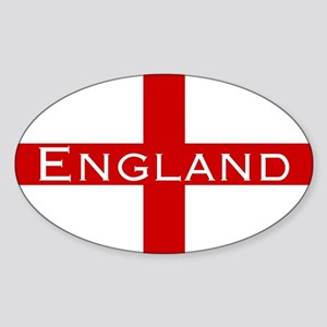 George Cross England Oval Sticker