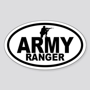 ARMY Ranger Oval Sticker