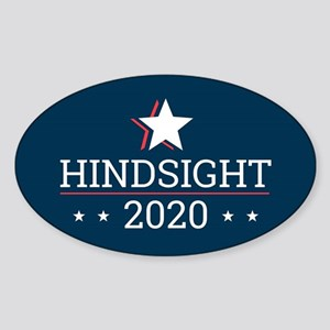 Hindsight 2020 Election Campaign - Rectang Sticker