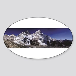 mount everest from afar Sticker