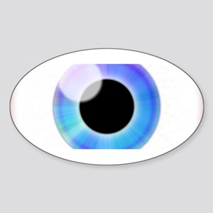 Eyeball Sticker (Oval)