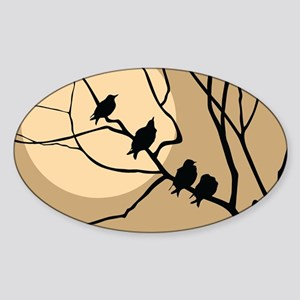 THE FLOCK Sticker (Oval)
