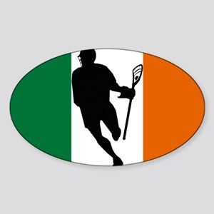 Lacrosse Flag IRock Ireland Sticker