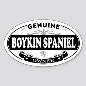 BOYKIN SPANIEL Oval Sticker