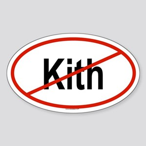 KITH Oval Sticker