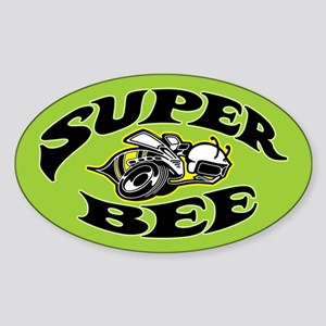 Super Bee Sticker (Oval)
