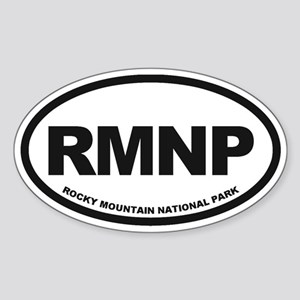 Rocky Mountain Natl Park Sticker (Oval)