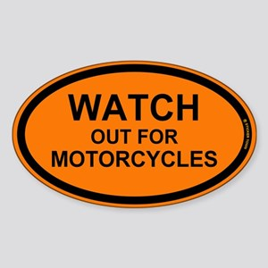 Watch Out For Motorcycles Sticker