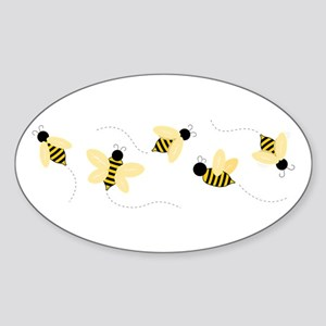 Bumble Bees Sticker