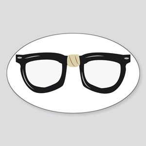Broken Glasses Sticker
