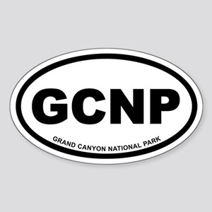 Grand Canyon National Park Oval Sticker