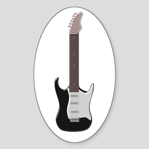 Electric Guitar Sticker