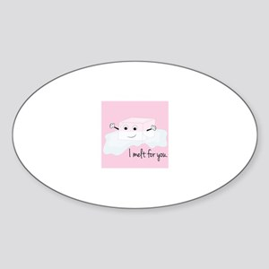 I Melt For You Sticker