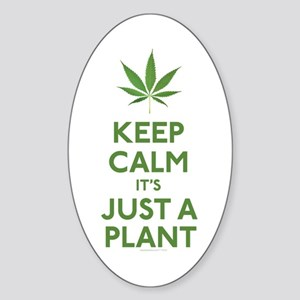 Keep Calm Its Just A Plant Sticker