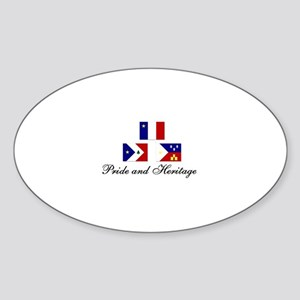 Acadian/Cajun Sticker (PH Oval)