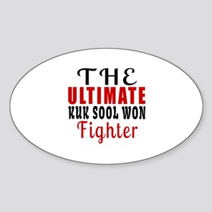 The Ultimate Kuk Sool Won Martial A Sticker (Oval)