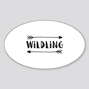 Wildling Sticker (Oval)