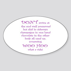 Funny Poetry Stickers - CafePress