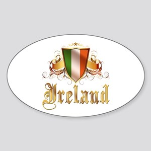 Irish pride Oval Sticker
