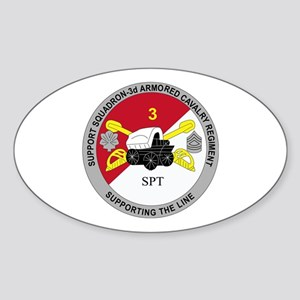 DUI - Support Squadron 3rd ACR Sticker (Oval)